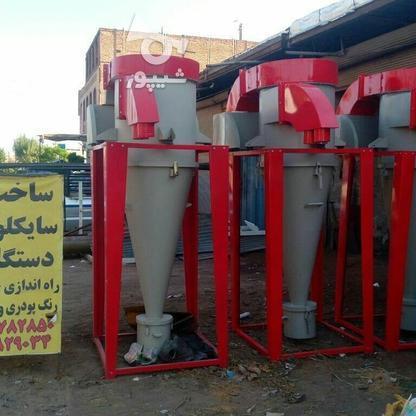 سایکلون بازیافت رنگ پودری 9فیلتره استاندارد  در گروه خرید و فروش صنعتی، اداری و تجاری در تهران در شیپور-عکس1