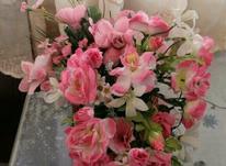 چند دسته گل مصنوعی خارجی در شیپور-عکس کوچک