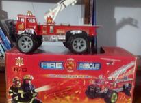 ماشین آتش نشانی اسباب بازی در شیپور-عکس کوچک