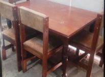 میز نهار خوری چوبی4نفره در شیپور-عکس کوچک