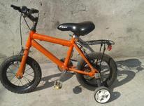 دوچرخه سایز (دوازده) فوقالعاده تمیز وعالی در شیپور-عکس کوچک