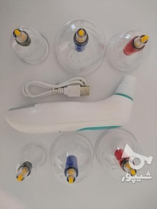 دستگاه بادکش برقی حجامت بی سیم در گروه خرید و فروش لوازم شخصی در تهران در شیپور-عکس1