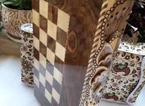 شطرنج چوب طرح منبت  در شیپور-عکس کوچک