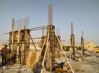 کارگر قالب بند و آرماتوربند در شیپور-عکس کوچک