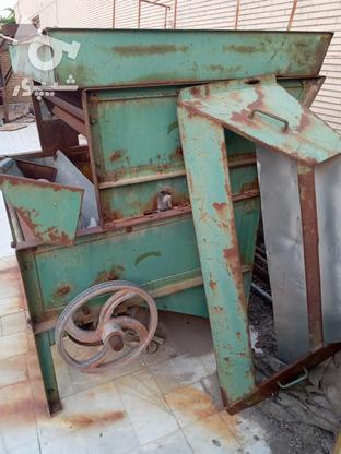 چرخ پسته پوست کنی کارا 6.7تنی دوتوپی .تازه پیچ هاش عوض شده  در گروه خرید و فروش صنعتی، اداری و تجاری در کرمان در شیپور-عکس1