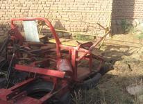 دروگر بافه بند جلو تراکتوری در شیپور-عکس کوچک