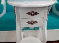 میز تلفن سلطنتی سفید وکیوم آکبند در شیپور-عکس کوچک
