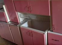 کابینت فلزی. سینک. آبچکان در شیپور-عکس کوچک