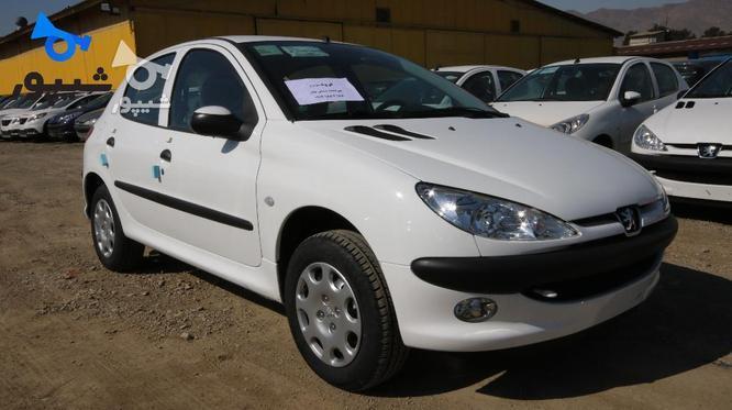 پژو 206 (تیپ5) 1399 سفید در گروه خرید و فروش وسایل نقلیه در تهران در شیپور-عکس1