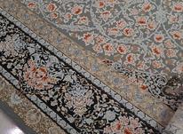 فرش دوازده متری 1200 شانه  طوسی رنگ کاملا نو در شیپور-عکس کوچک