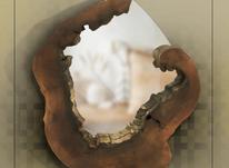 آینه دیواری طرح چوب طبیعی در شیپور-عکس کوچک