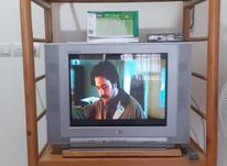 تلویزیون ال جی 24 اینچ صفحه تخت با میز و دستگاه دیجیتال  در شیپور-عکس کوچک