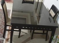 میز نهار خوری چوبی شیک 6 نفره در شیپور-عکس کوچک