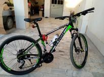 دوچرخه 27دنده  برند فلاش سایز 27درحدنو کم کارکرد در شیپور-عکس کوچک