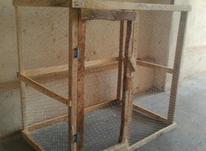قفس. چوبی. در شیپور-عکس کوچک