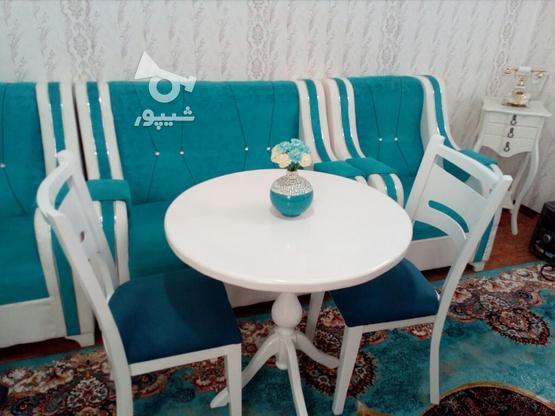 میز نهارخوری دونفره سه نفره سفید وکیوم  در گروه خرید و فروش لوازم خانگی در خراسان رضوی در شیپور-عکس1