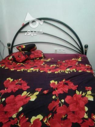 فروش فوری تخت دونفره با میز آرایشی  در گروه خرید و فروش لوازم خانگی در مازندران در شیپور-عکس1