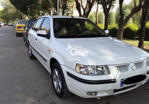 سمند lxمدل 98 سفید در گروه خرید و فروش وسایل نقلیه در اردبیل در شیپور-عکس1