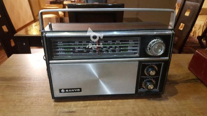 رادیو سانیو وjvc ژاپن قدیمی بکر انتیک در گروه خرید و فروش لوازم الکترونیکی در اصفهان در شیپور-عکس1