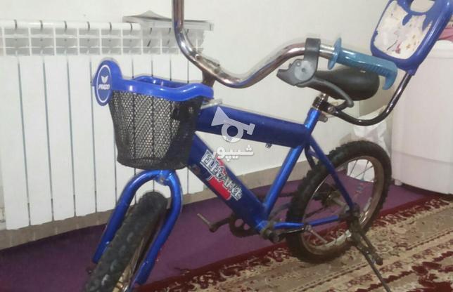 دوچرخه 16 همراه کمکی در گروه خرید و فروش ورزش فرهنگ فراغت در البرز در شیپور-عکس1