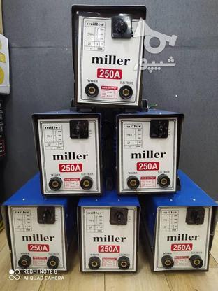 دستگاه جوش میلر 250 آمپر در گروه خرید و فروش صنعتی، اداری و تجاری در تهران در شیپور-عکس1