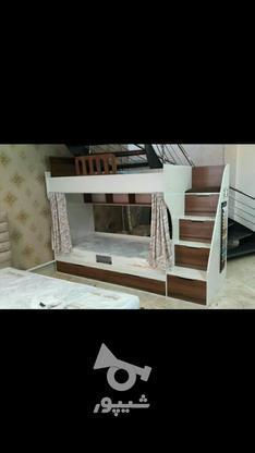 تختخواب دوطبقه ثابت در گروه خرید و فروش لوازم خانگی در آذربایجان شرقی در شیپور-عکس1