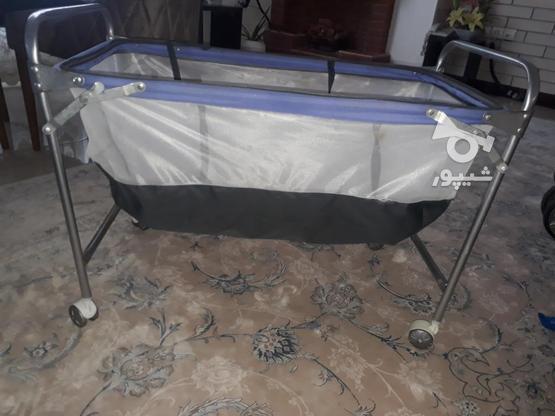 تخت تاشو نوزادی در گروه خرید و فروش لوازم شخصی در مازندران در شیپور-عکس1