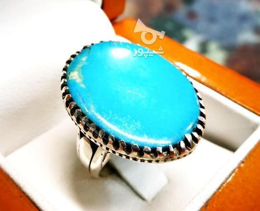 انگشتر درشت فیروزه در گروه خرید و فروش لوازم شخصی در قم در شیپور-عکس1