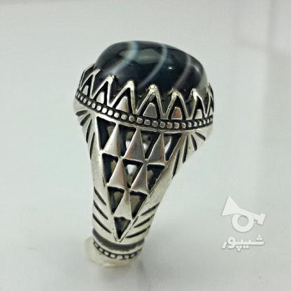 انگشتر عقیق سلیمانی  در گروه خرید و فروش لوازم شخصی در خراسان رضوی در شیپور-عکس1