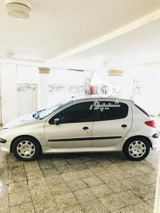 پژو 206مدل1383 نقره ای در گروه خرید و فروش وسایل نقلیه در مازندران در شیپور-عکس1