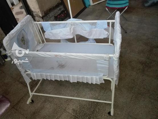 تخت و گهواره و رخت آویز و کریر نوزاد  در گروه خرید و فروش لوازم شخصی در فارس در شیپور-عکس1