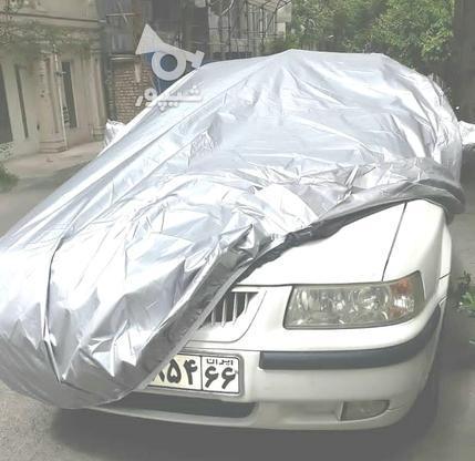 چادر ماشین منعکس کننده  نور آفتاب 4فصل کش ضخیم در گروه خرید و فروش وسایل نقلیه در تهران در شیپور-عکس1