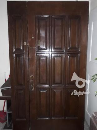 درب تمام چوب دو لت  در گروه خرید و فروش لوازم خانگی در تهران در شیپور-عکس1