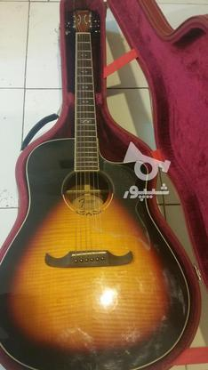 گیتار اگوستیک حرفه ای fender t-bucket 300ce در گروه خرید و فروش ورزش فرهنگ فراغت در تهران در شیپور-عکس1