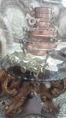ظروف مسی آجیل خوری ومیوه خوری در گروه خرید و فروش لوازم خانگی در تهران در شیپور-عکس1
