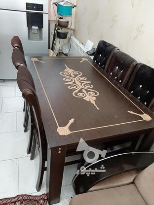 میز نهار خوری 6 نفره  در گروه خرید و فروش لوازم خانگی در تهران در شیپور-عکس1