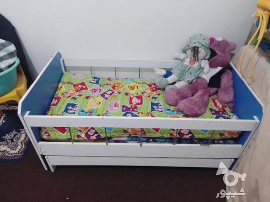 تختخواب بچه پسرانه  در گروه خرید و فروش لوازم شخصی در خوزستان در شیپور-عکس1
