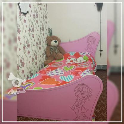تخت و کمد بچه دخترانه در گروه خرید و فروش لوازم خانگی در سمنان در شیپور-عکس1