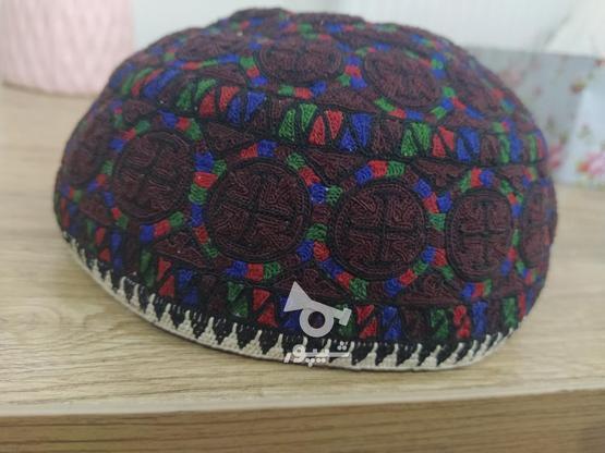 فروش کلاه سنتی دست دوز ترکمن در گروه خرید و فروش لوازم شخصی در گلستان در شیپور-عکس1