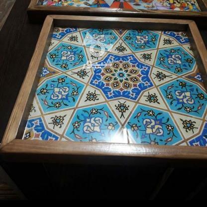 سینی چوبی با طرح دلخواه در گروه خرید و فروش خدمات و کسب و کار در اصفهان در شیپور-عکس1
