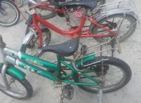 دوچرخه سایز16 تنه بزرگ رنگ سبز در شیپور-عکس کوچک