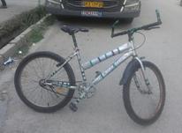 دوچرخه سایز24 رنگ طوسی در شیپور-عکس کوچک