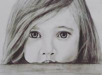 سفارش طراحی چهره با سیاه قلم و ترکیب با مداد رنگی  در شیپور-عکس کوچک