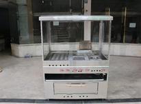 دستگاه فر اغذیه ساندویچی سه کاره ترکیبی مرکب پیتزا خور گریل در شیپور-عکس کوچک