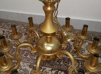 لوستر طلایی 12شاخه در شیپور-عکس کوچک