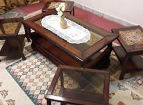 ست میز پذیرایی جلو مبلی بزرگ با 4 عدد عسلی در شیپور-عکس کوچک