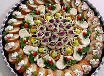 تزیین نون و پنیر و سبزی عقد در شیپور-عکس کوچک