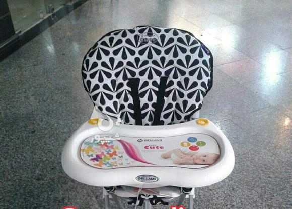 صندلی غذای دلیجان 8 رنگ در گروه خرید و فروش لوازم شخصی در تهران در شیپور-عکس1
