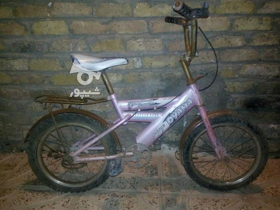 دوچرخه 16 سالم در گروه خرید و فروش ورزش فرهنگ فراغت در البرز در شیپور-عکس1