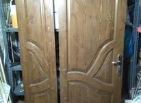 درب چوبی دو لنگه در شیپور-عکس کوچک